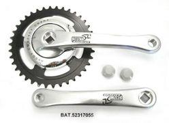 Crankstel Batavus alu/staal Nexus 38t 170mm. 0mm.