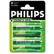 Philips batterijen R20 1,5V per 2