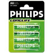 Philips Longlife AA batterijen per 4