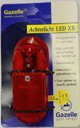 Achterlicht Gazelle LED XB op spatbord