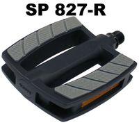 Brede e-bike pedalen SP-827 kunststof zwart