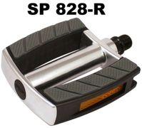 Extra brede, aluminium e-bike pedalen SP-828 zilver
