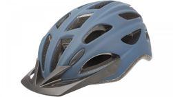 City GO e-bike helm mat blauw denim M 54-59cm.