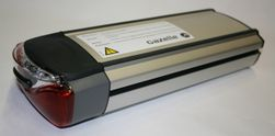 Accu Innergy -gebruikt- (Zilver 36V x 9Ah = 324Wh)