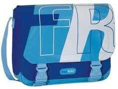 Young Messenger bag cool blue