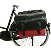 Beck fietstas Bisonyl rood zwart 42 liter
