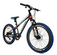 SuperSuper Kiyoko Mountainbike 24, Zwart Blauw