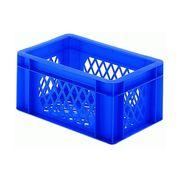 Fietskrat bagage krat mini blauw
