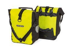 Tas front/sport roller hivis f6151 geel fluo/zwart