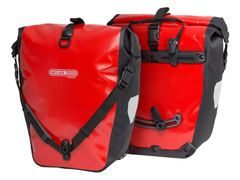 Tas achter back roller classic f5302 red-black ql2