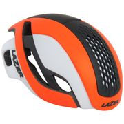 Lazer Helm Bullet Mat Fluor Oranje/Wit S