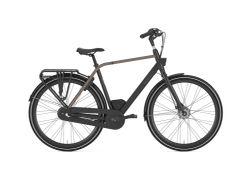 Gazelle CityGo C3, black mat