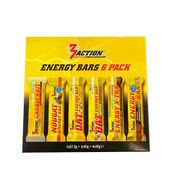3 Action Energy bars 6 pack