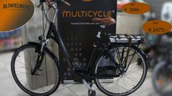 Multicycle Legend 500wH Bafang , Phantom Black Metallic