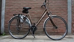 Multicycle Expressive-S, Chocolat Brown