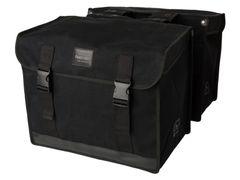 Fastrider dubbele tas canvas 37 zwart