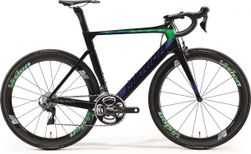 Merida Reacto LTD Glossy Black/Aurora, Blauw