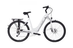 Ebike Das Original C008 Intube Active Plus (G3) / PowerTube 400 Wh / , Sunset Strip (White - Silver G