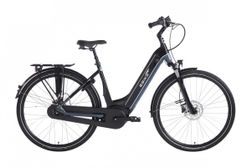 Ebike Das Original C007 Intube Active Plus (g3) / Powertube 400 Wh / , Route 66 (black - Blue Silver