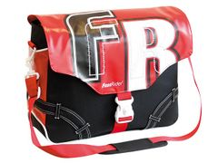 Messenger young bag rood