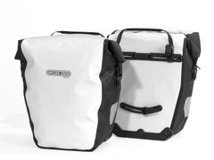 Tas Back Roller City F5003 Wit/Zwart Ql1( paar)