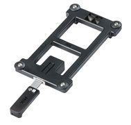 Mik adapter plate zwart