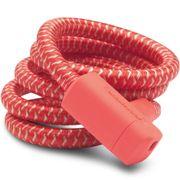 UP kabelslot braided 15mm 150cm Kreeft rood
