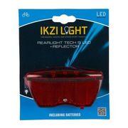 Ikzi achterlamp 5 led reflector (8cm)