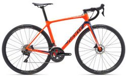 Giant TCR Advanced 2 Disc-King of Mountain XS Neon Red