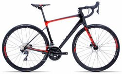 Giant Defy Advanced 1-HRD L Carbon/Pure Red