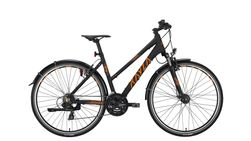 Trapez 28 black matt / orange 21-Gang SHIMANO TY8