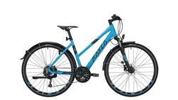 Trapez 28 light blue matt / black 24-Gang SHIMANO