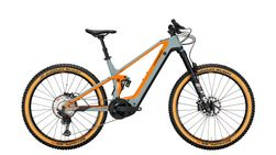 Full Suspension 27 5 grey matt / orange 12-Gang S