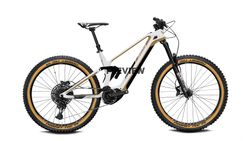 Full Suspension 29 pearl white / copper 12-Gang S