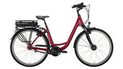 Deep 26 cranberry red / silver 7-Gang SHIMANO Nex