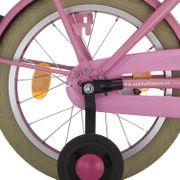 Alpina achterwiel 16 remnaaf J20 roze zink spk