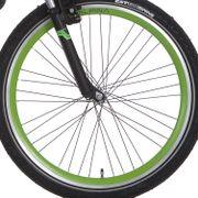 Alpina voorwiel26 Trial 9x4 groen