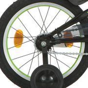 Alpina achterwiel 16 remnaaf J20 Trail groen zwarte spk