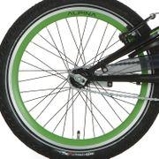 Alpina achterwiel 20 remnaaf J19DB groen zwarte spk