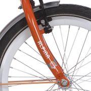 Alpina voorvork 22  GP oranje