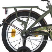Alpina achterdrager 16 GP army green matt