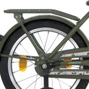 Alpina achterdrager 18 Cargo army green matt