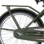 Alpina achterdrager 22 Cargo army green matt