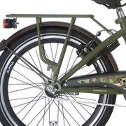 Alpina achterdrager 22 GP army green matt