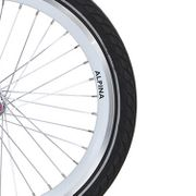Alpina velg 22 J19DB white