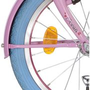 Alpinachterspatbord stang set 18 Clubb sweet pink