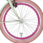 Alpina voorwiel 20 J19DB roze zink spk