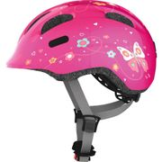 Abus helm smiley 2.0 pink butterfly m 50-55