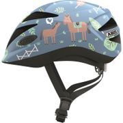 Abus helm hubble 1.1 blue horse m 52-57
