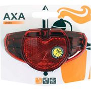 Axa led lamp achterlicht spark rood on/off batteri